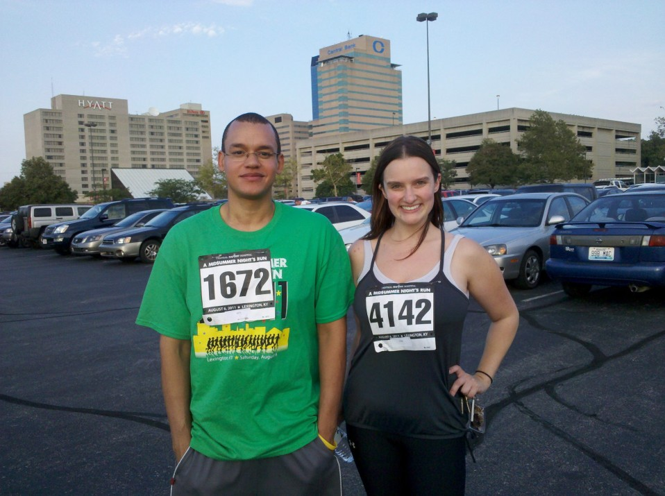 Our First Race!